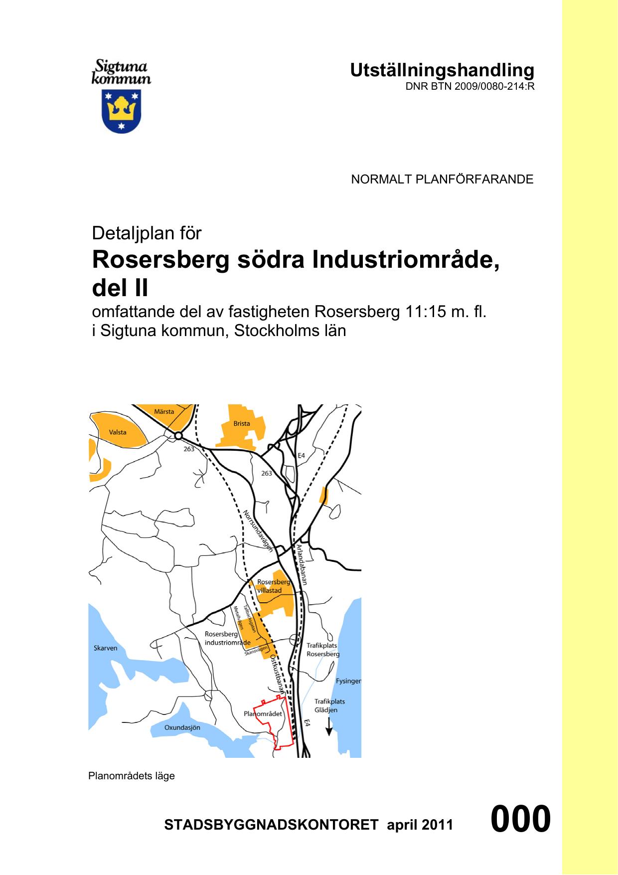 Rosersberg far kombiterminal for omlastning 3