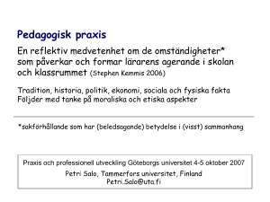 PowerPoint-esitys - Göteborgs universitet