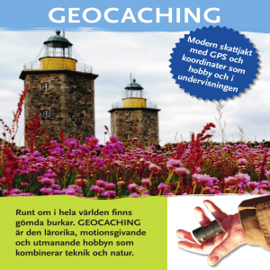 geocaching - Region Halland
