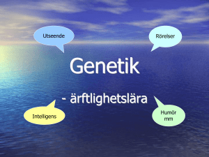 Genetik - WordPress.com
