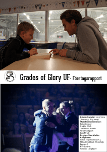 Grades of Glory UF