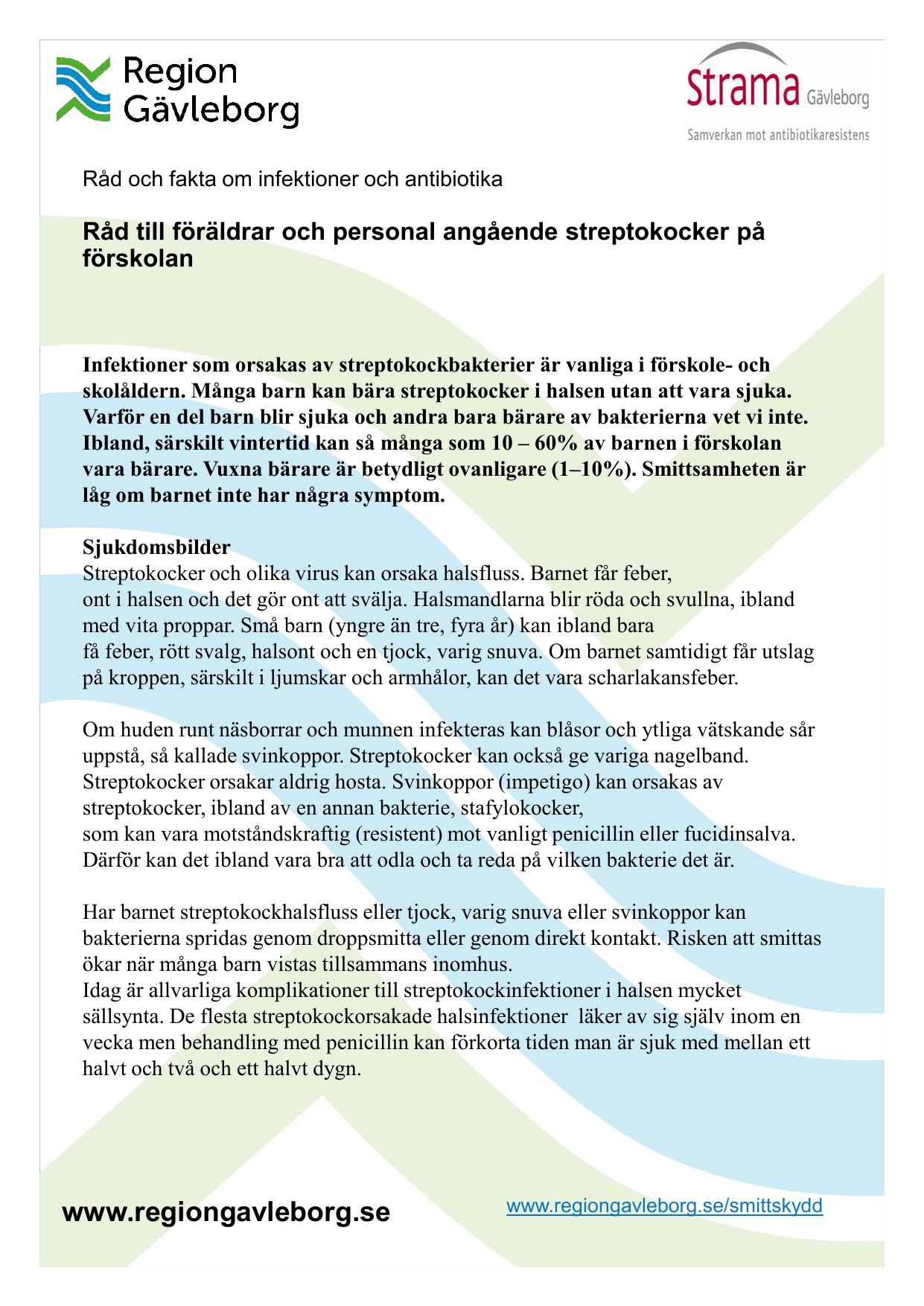 antibiotika mot streptokocker