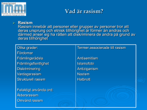 rasism - Immigrant