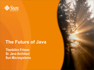 The Future of Java