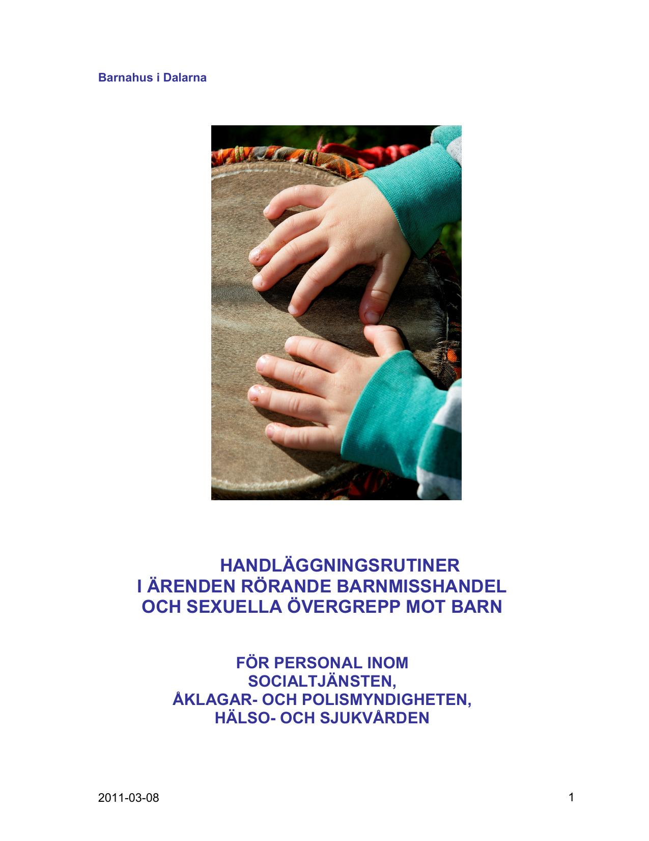 Varden anmaler inte barnmisshandel och overgrepp