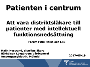 Patienten i centrum