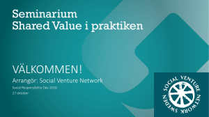 Shared Value i praktiken
