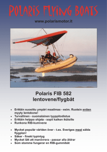 Polaris Flying Boats - DG Products
