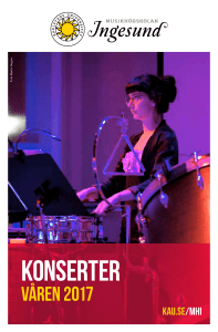 konserter - Karlstads universitet