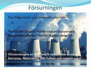 Försurningen - WordPress.com