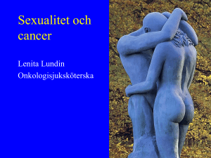 Sexualitet och cancer