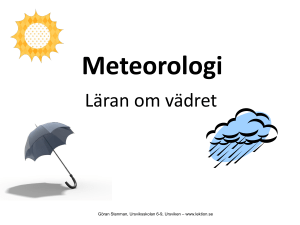 Meteorologi - WordPress.com