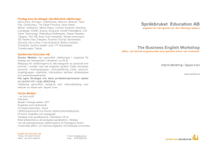 Business English Workshop