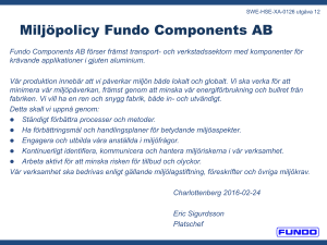 Fundo Components AB