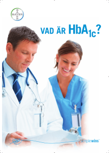 Vad är HbA1c? - Ascensia Diabetes Care Sweden