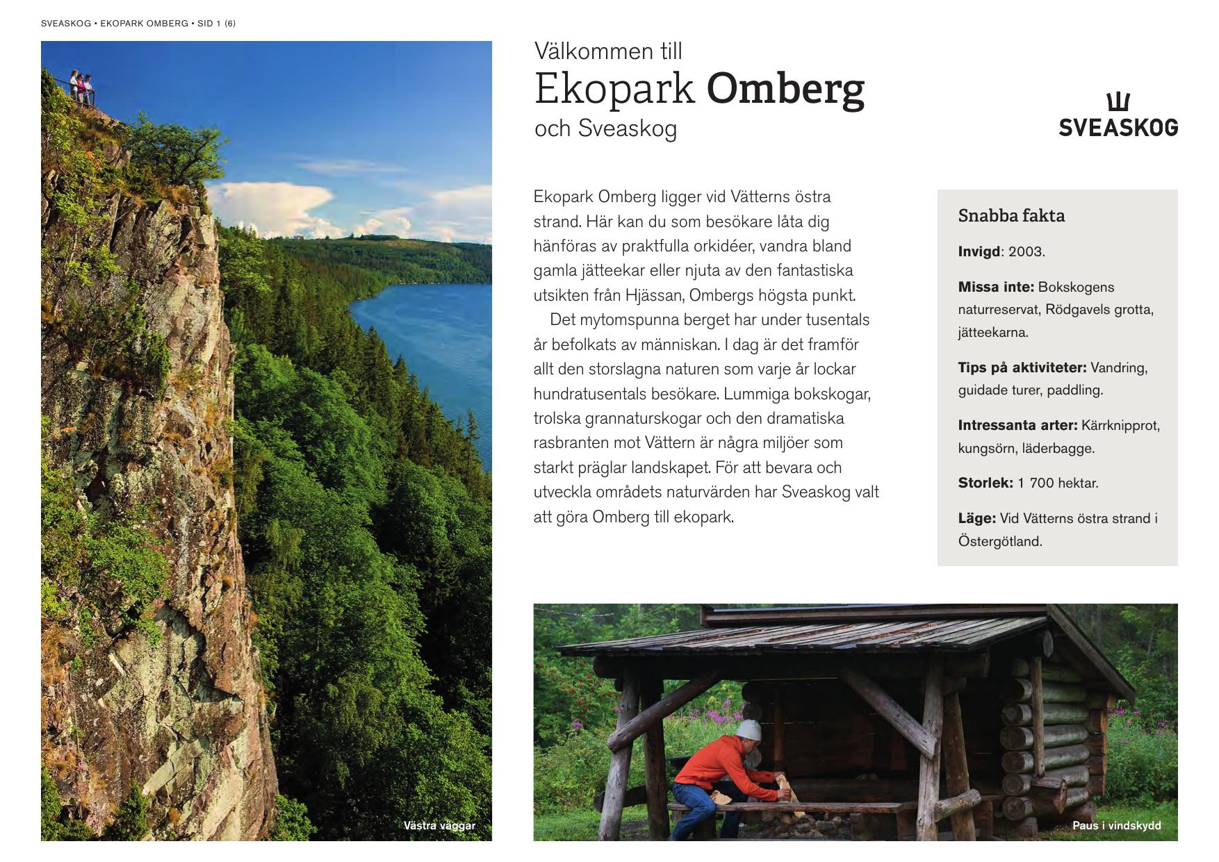 Ekopark Omberg