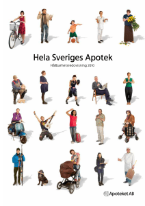 Hela Sveriges Apotek - Global Reporting Initiative