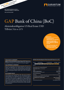 GAP Bank of China (BoC)