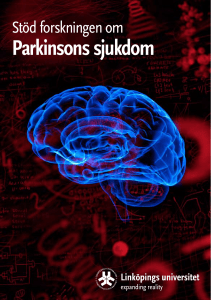 Parkinsons sjukdom - Linköpings universitet