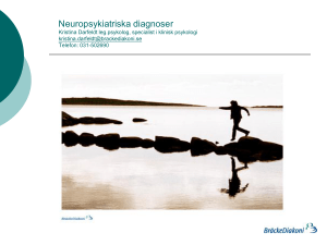 Neuropsykiatriska Diagnoser