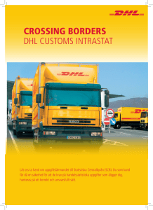 crossing borders dhl customs intrastat