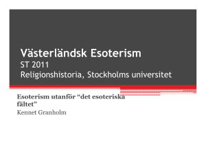 (Microsoft PowerPoint - V\344sterl\344ndsk esoterism