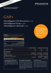 Aktieobligation USA Konsumtion nr 2481 Aktieobligation