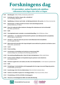 Forskningens dag program 2014