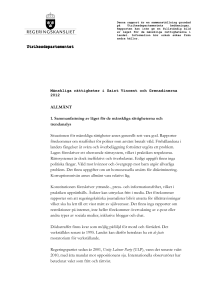 St Vincent och Grenadinerna_MR-rapport 2012