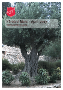 Kårblad Mars - April 2017