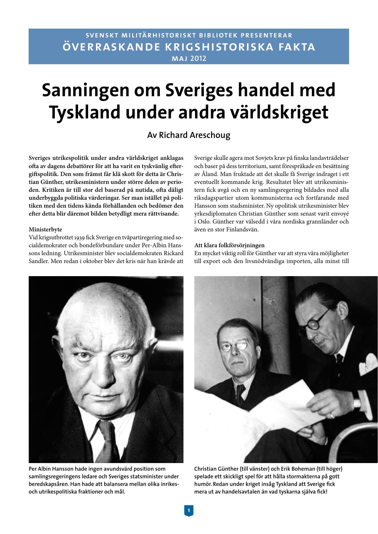 fd36266e97e Sanningen om Sveriges handel med Tyskland under