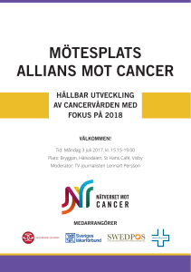 mötesplats allians mot cancer