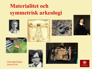 Materialitet och symmetri