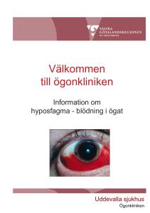 blödning i ögat waran