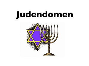 Judendomen - WordPress.com
