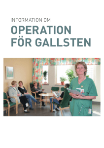 operation för gallsten