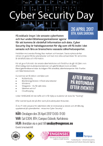26 april 2017 - Blue Science Park