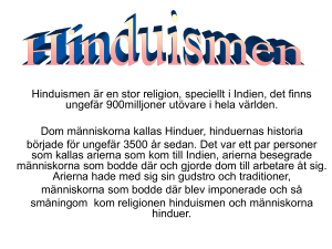 Hinduismen - WordPress.com