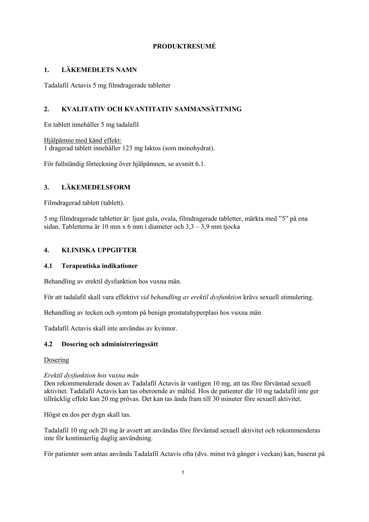 metronidazol actavis behandling