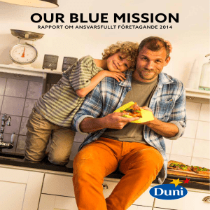 our blue mission