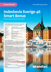 Indexbevis Sverige 46 Smart Bonus