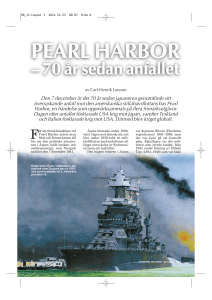 Pearl Harbor - Nordisk Filateli