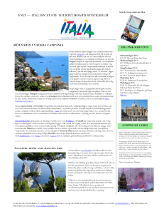 enit — italian state tourist board stockholm