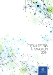 it-fakultetens årsmagasin 2014