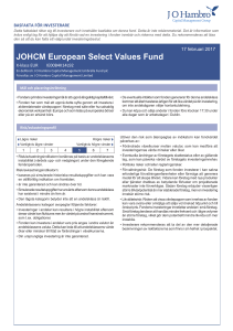 JOHCM European Select Values Fund