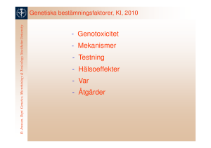 Genotoxicitet