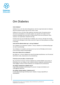 Om Diabetes - Mynewsdesk