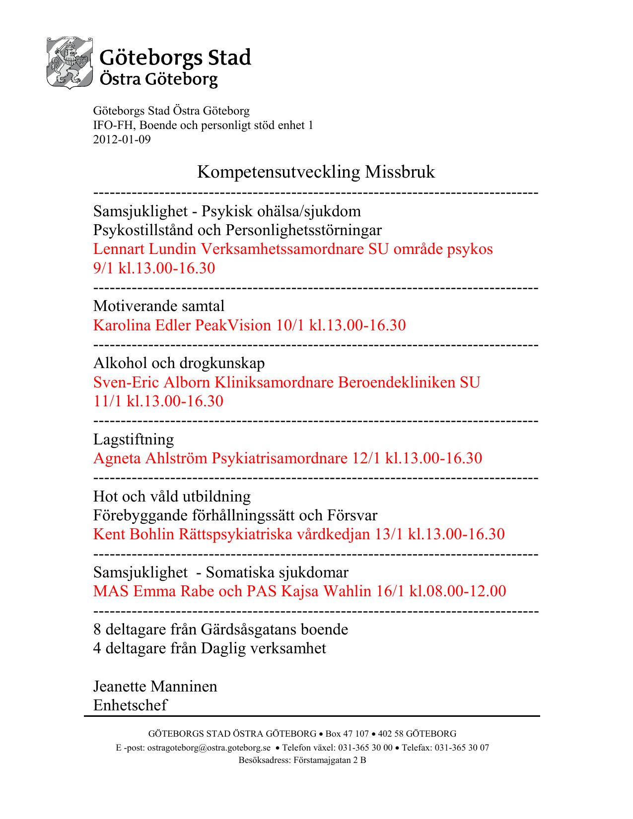 epost göteborgs stad