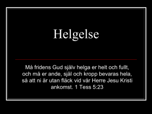 Helgelse - WordPress.com