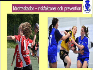 Idrottsskador prevention 2